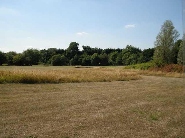 The rough can prove difficult to get out of at Fairlop Waters