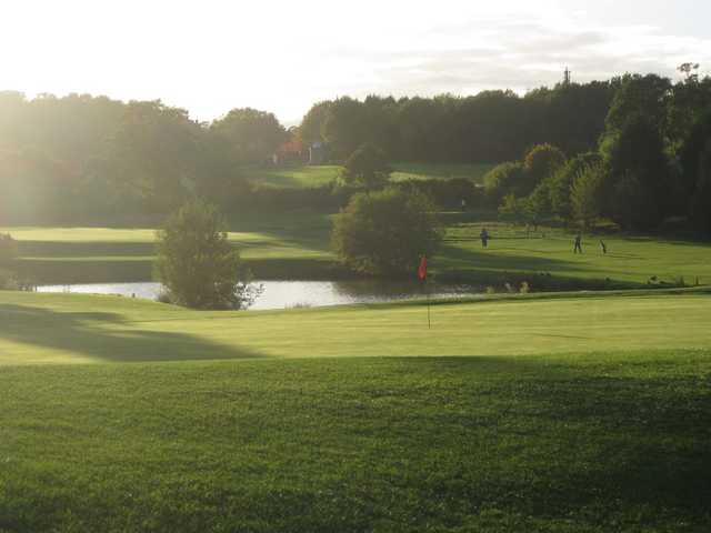 12th green on the Blue Mountain Golf Course