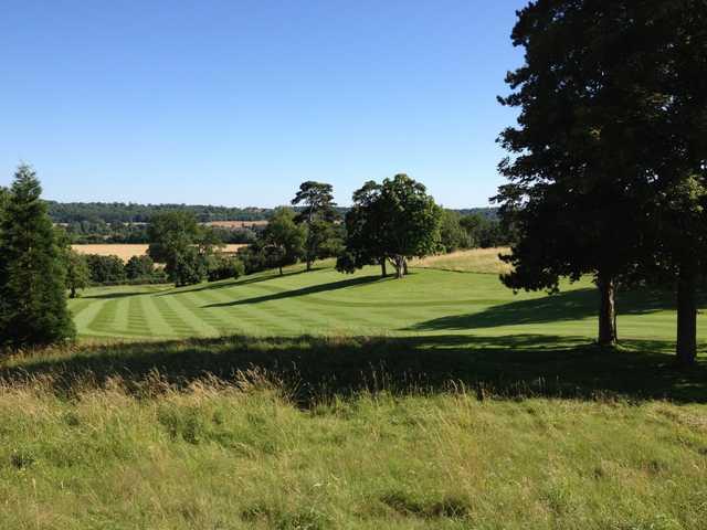 7th green at Harleyford Golf Club