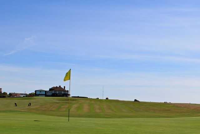 1st hole at Blackpool North Shore Golf Club