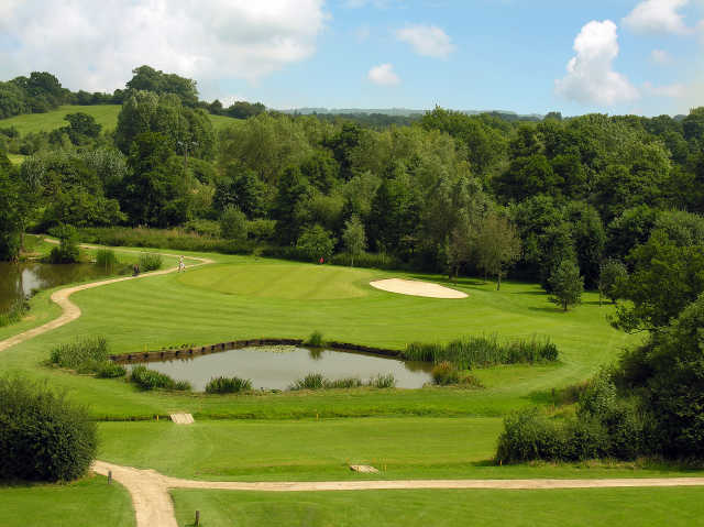 11th green at the Abbey Hotel Golf and Country Club