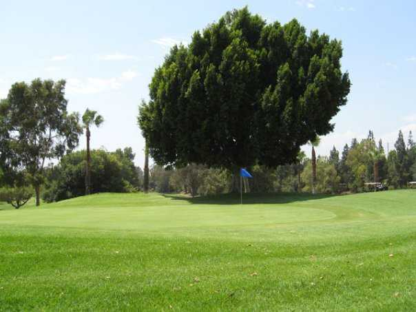A view of a green at Birch Hills Golf Course