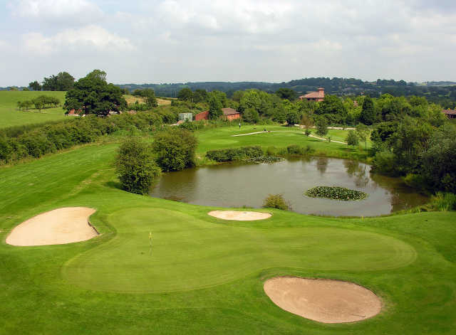 3rd hole at The Abbey Hotel, Golf and Country Club