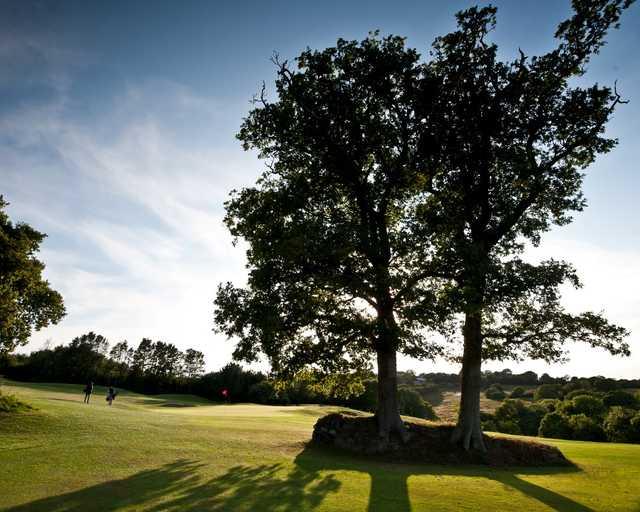 11th green, China Fleet Golf Course