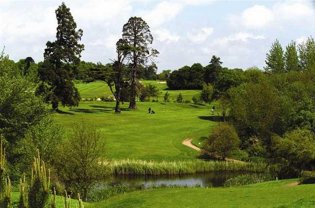 View from Ufford Park Woodbridge
