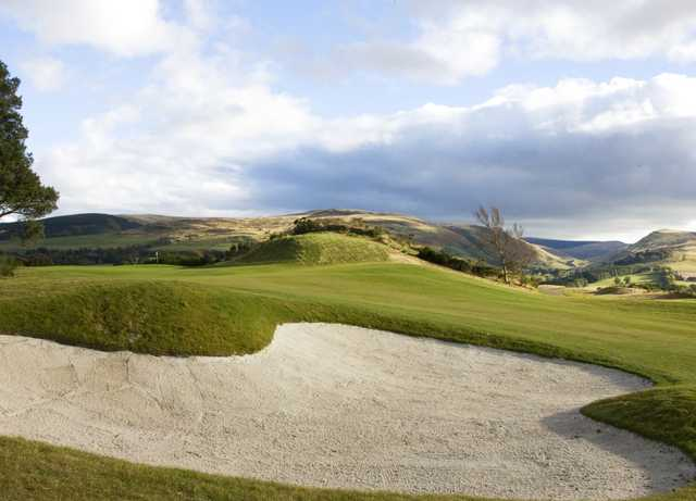 The 7th hole at PGA Centenary Course, Gleneagles, Scotland