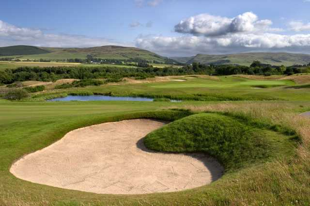 The 16th hole at PGA Centenary Course, Gleneagles, Scotland
