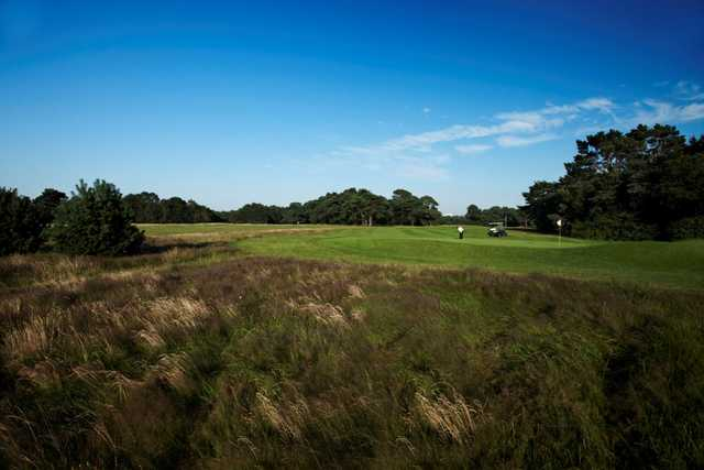 View from the rough of the 6th hole at  Meyrick Park Golf Club