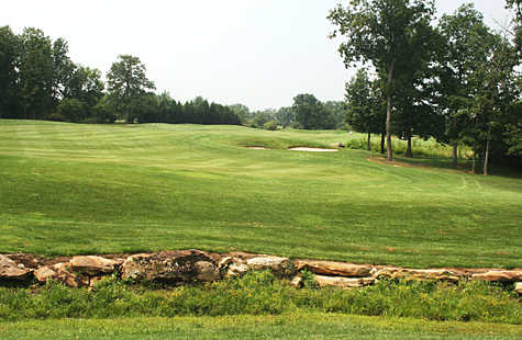 A view of fairway #1 from Bear Trace at Cumberland Mountain State Park