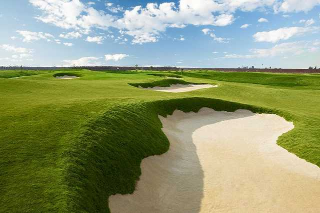 A view from Ridge Creek Dinuba Golf Club