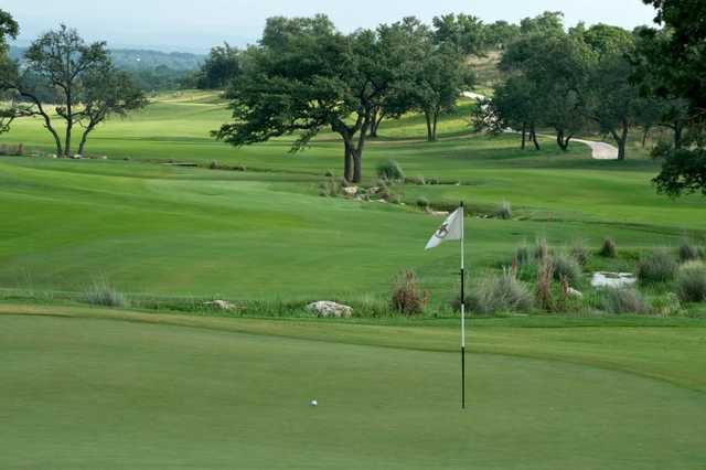 A view of hole #5 at Cordillera Ranch Golf Course