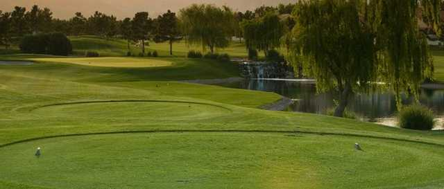 A view from the tees at Spanish Trail Country Club