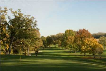 A view of hole #14 at Lincoln Elks Golf Club