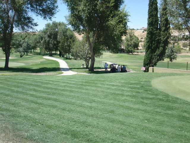 A view from Hesperia Golf & Country Club