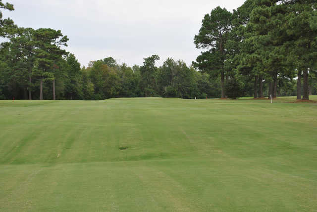 A view of a hole at Trails End Golf Course