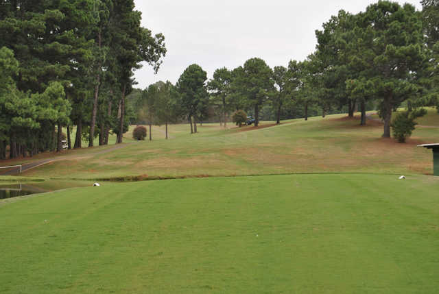 A view from a tee Trails End Golf Club