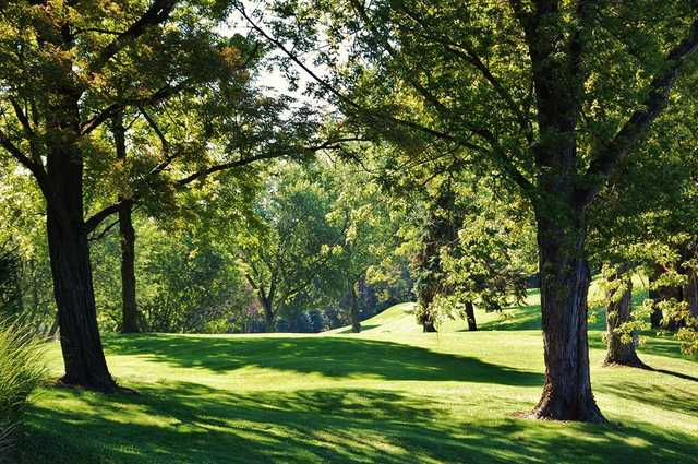A view from Tanglewood Golf Course
