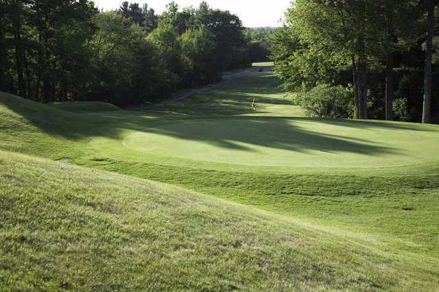 A view of a green at Holden Hills Country Club