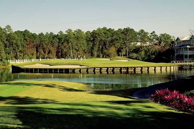 View from no. 7 on Disney's Lake Buena Vista course