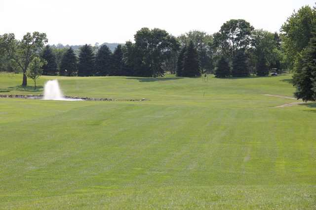 A view of a hole at Granite Run Golf Course