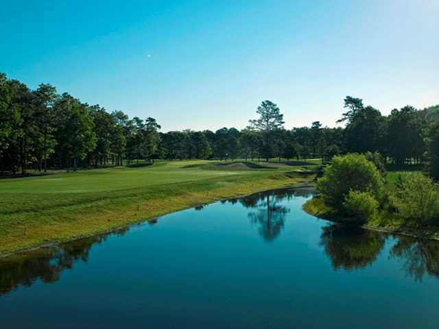 View from Harbor Pines Golf Club