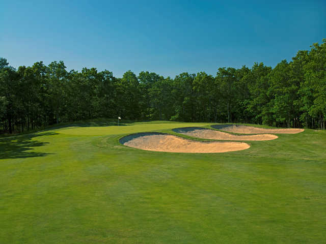 View from no. 16 at Harbor Pines Golf Club