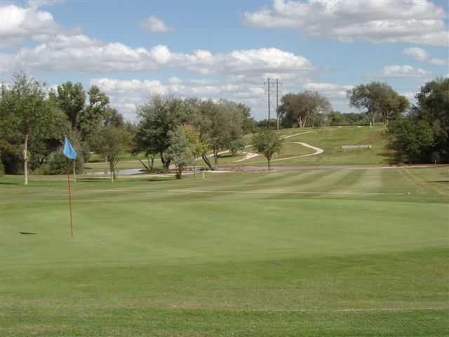 View of a green at John Pitman Golf Club