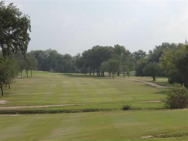 View of a fairway at John Pitman Golf Club