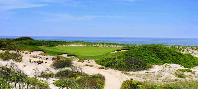 A view of green #14 from West at Maidstone Club