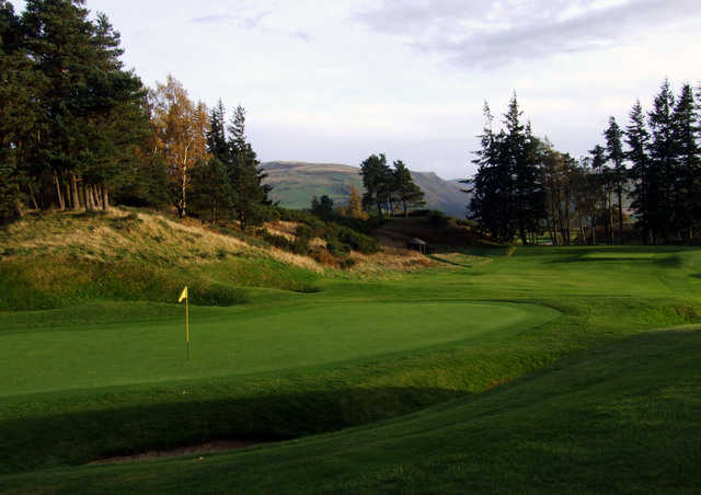 James Braid's 1919 masterpiece: the King's course at Gleneagles. ( Photo by Brandon Tucker )