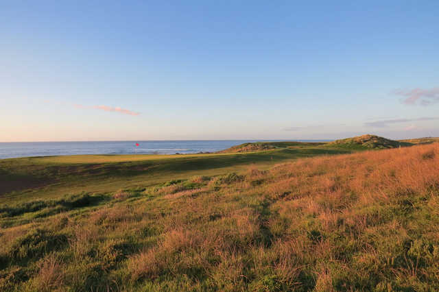 A view of hole #3 at Cape Wickham Links