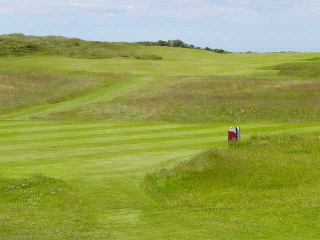 A view from Royal Portrush Golf Club