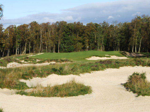 More than 100 new and redesigned bunkers have given the Duke's Course in St. Andrews a more rugged look. ( Photo by Brandon Tucker )