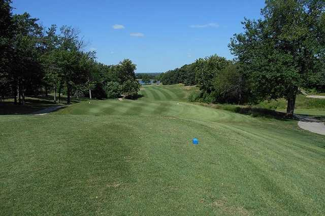 A view from a tee at Hidden Pines Country Club