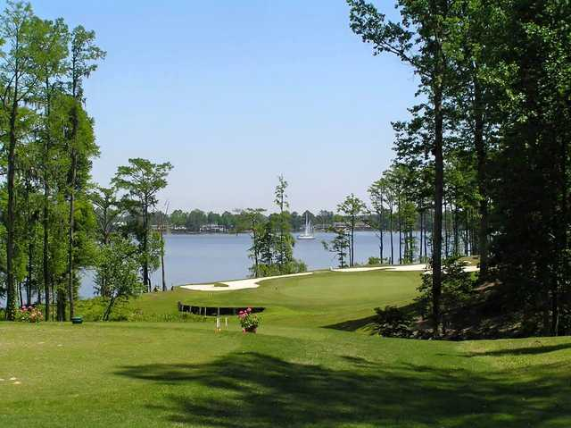 A view from tee #15 at Cypress Landing Golf Club.