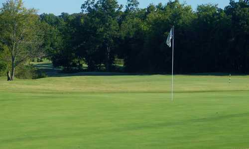 A view of hole #17 at White Hawk Golf Club