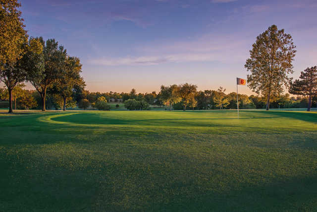 A view of a hole at Perry Golf & Country Club