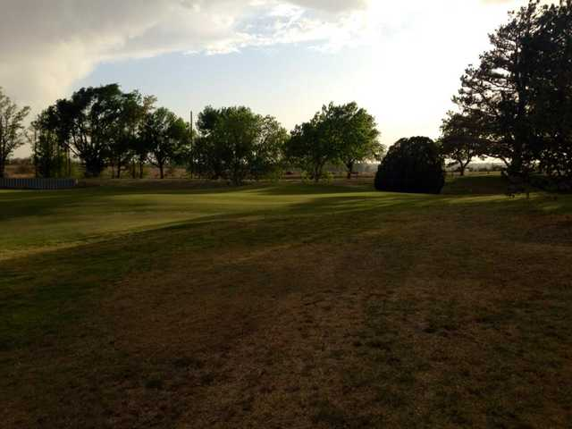 A view of hole #4 at Shattuck Golf & Country Club