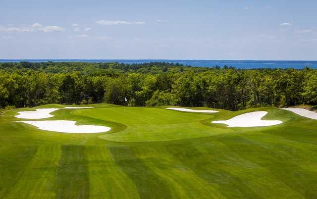 View of the 11th hole at The Cape Club (Michael Petrizzo)
