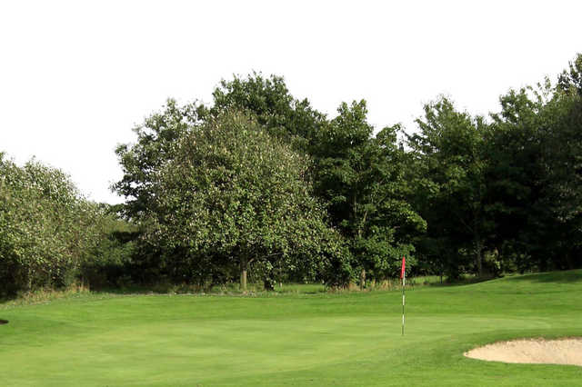 A view of hole #14 at Pontefract & District Golf Club