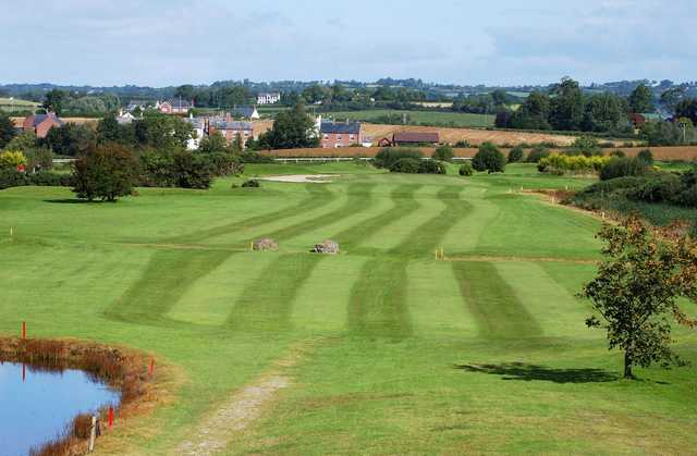 View of the 1st fairway at Down Royal Park Golf Course