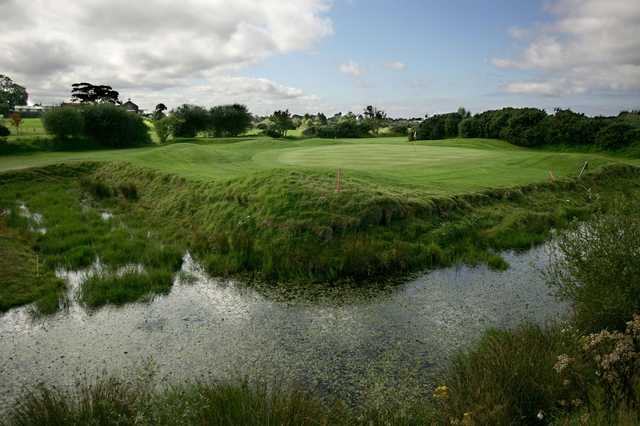 View of the 7th green at Down Royal Park Golf Course