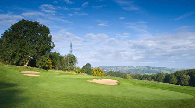 A view of green #4 at Bath Golf Club
