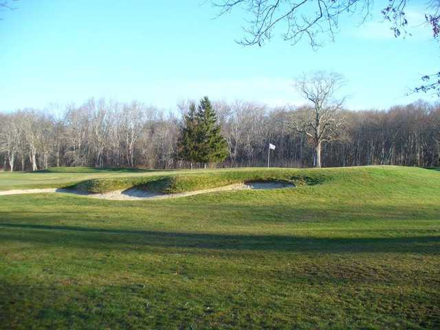 A view of a green at Allendale Country Club