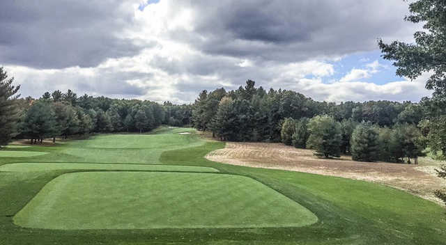 A view from tee #1 at Oaks Course from International Golf Club.