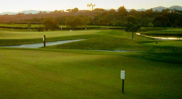 A view from Arrowood Golf Course