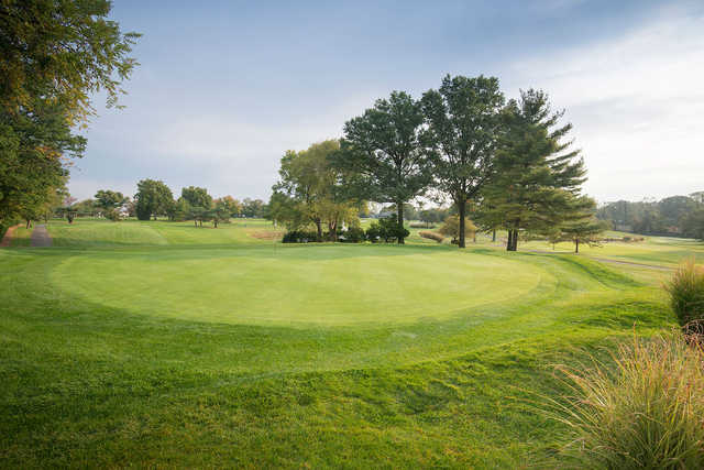 A view of hole #10 at Colonia Country Club