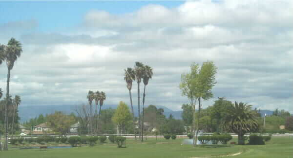 A view from Pleasanton Golf Center
