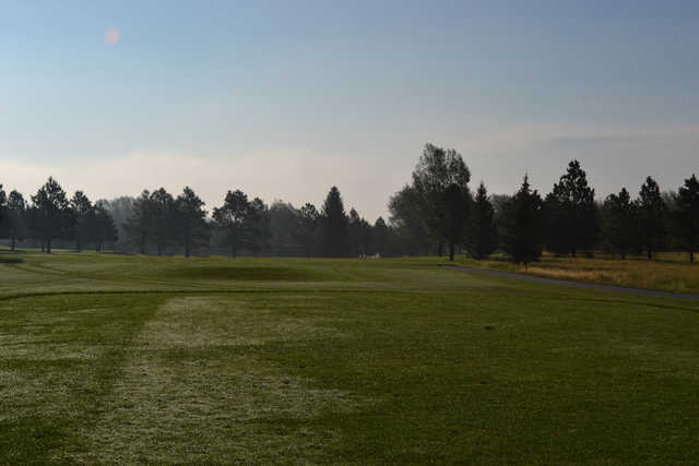 A view from tee #3 at Cheyenne Country Club