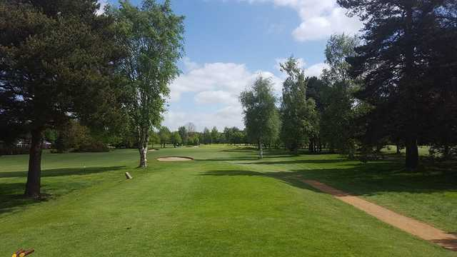 A view from tee #9 at North Warwickshire Golf Club